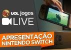 UOL mostra ao vivo apresentação do Nintendo Switch na sexta (13), às 2h - Arte/UOL Jogos