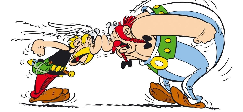 Os icônicos personagens Asterix e Obelix - Divulgação