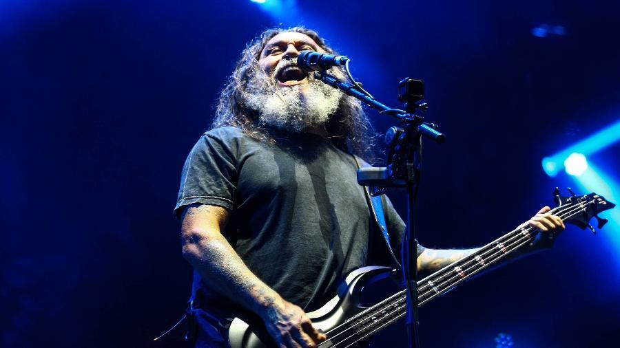 Slayer se apresenta no Maximus Festival, no autódromo de Interlagos - Aloisio Mauricio/Fotoarena/Estadão Conteúdo