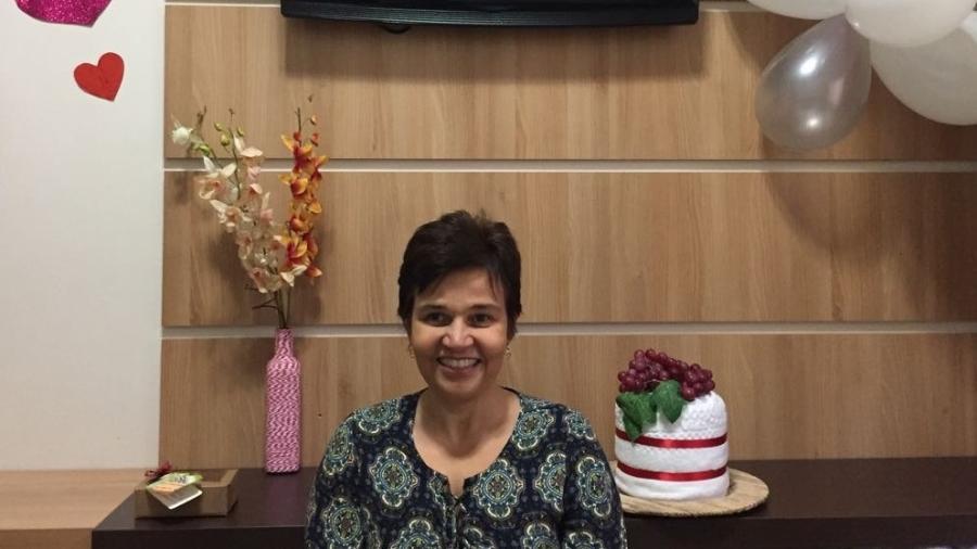 Claudia Rodrigues celebra aniversário em clínica onde realiza tratamento contra esclerose múltipla - Claudia Rodrigues/Arquivo pessoal