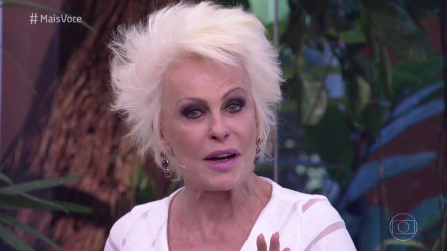 """Ana Maria Braga chora no """"Mais Você"""" com a presença de Alcione - Reprodução/TV Globo"""
