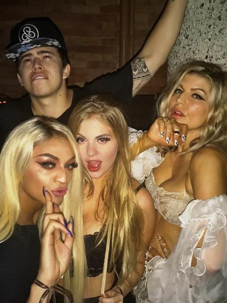 Pabllo Vittar, Whindersson Nunes, Luísa Sonza e Fergie - Reprodução/Instagram