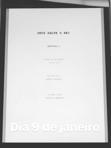 """Bruna Marquezine divulga data de estreia de """"Deus Salve o Rei"""" - Reprodução/Instagram/brumarquezine"""