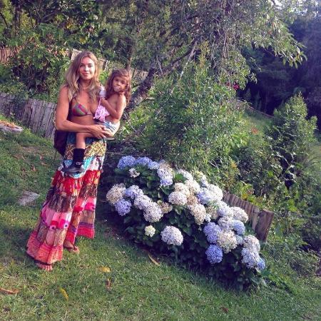 Grazi Massafera com a filha, Sofia - Reprodução/Instagram