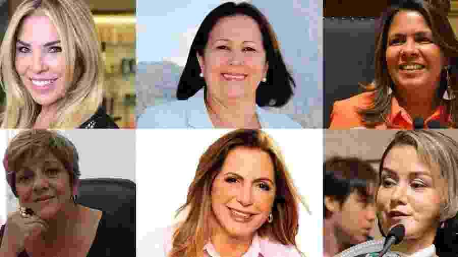 As vereadoras da Câmara Municipal carioca - Reprodução/Facebook