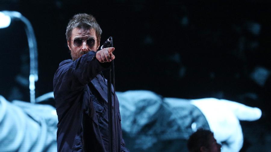 Com repertório baseado em Oasis, Liam Gallagher se apresenta no Lollapalooza Brasil 2018 - Ricardo Matsukawa/UOL