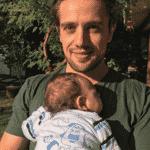 Rafael Cardoso e o filho, Valentim - Reprodução/Instagram