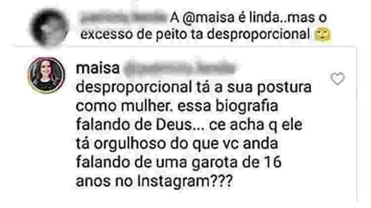 Maisa Silva - Reprodução/Instagram - Reprodução/Instagram