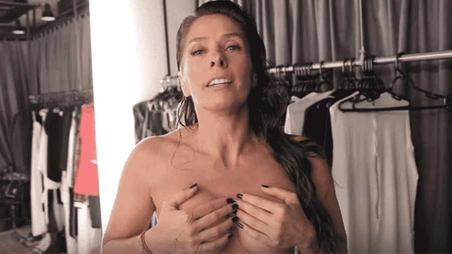 Adriane Galisteu - Reprodução/YouTube