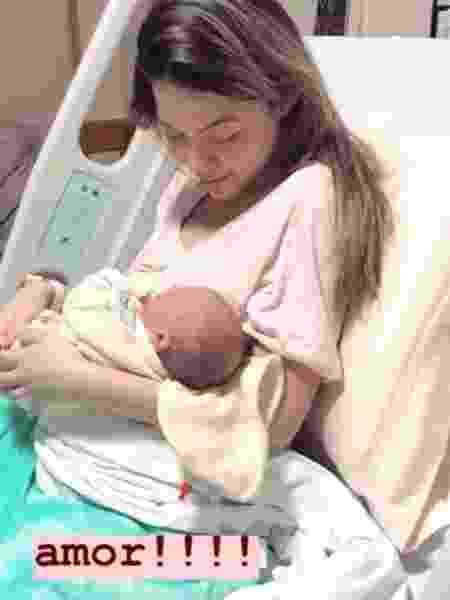 Nasce o filho de Sarah Poncio - Reprodução/Instagram