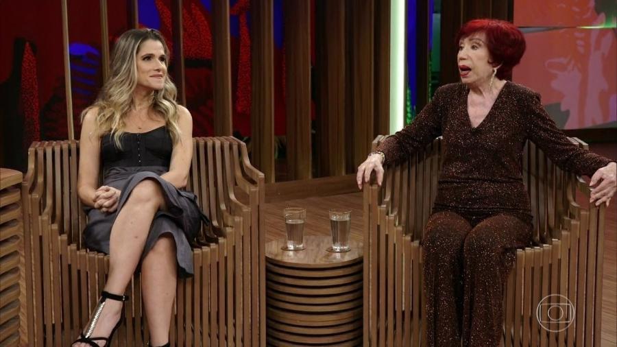 Ingrid Guimarães e Berta Loran - Reprodução/TV Globo