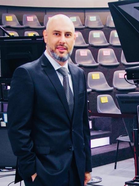 Douglas Tavolaro um dos sócios da CNN Brasil - Arquivo pessoal