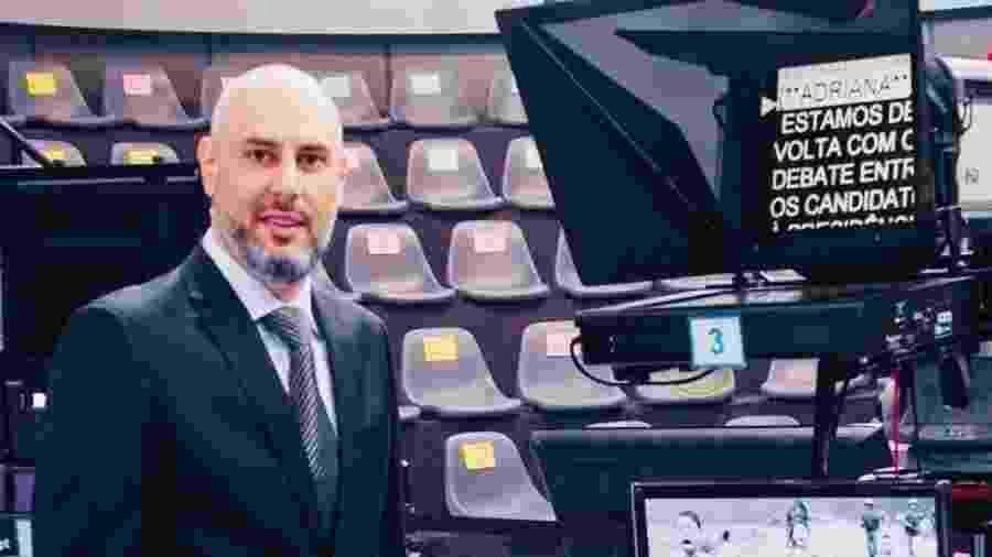 Douglas Tavolaro, ex-Record, é idealizador e um dos sócios da CNN Brasil - Arquivo pessoal