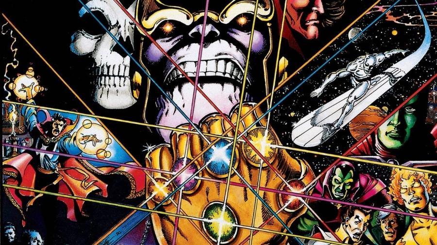"""Arte de """"Infinity Gauntlet"""" - Divulgação"""