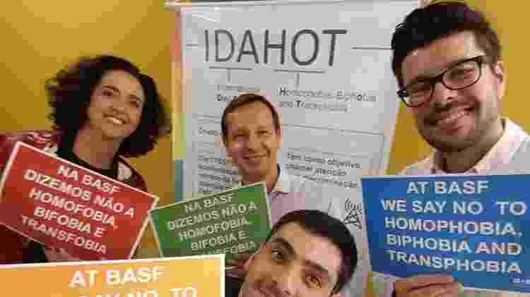 Grupo na Basf discute a questão de diversidade sexual no ambiente corporativo - Divulgação