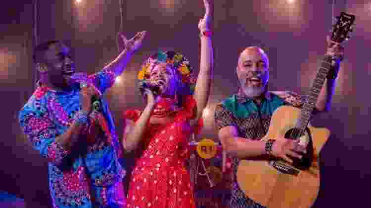 Lázaro Ramos, Heloísa Jorge e Jarbas Bittencourt  - Divugalção