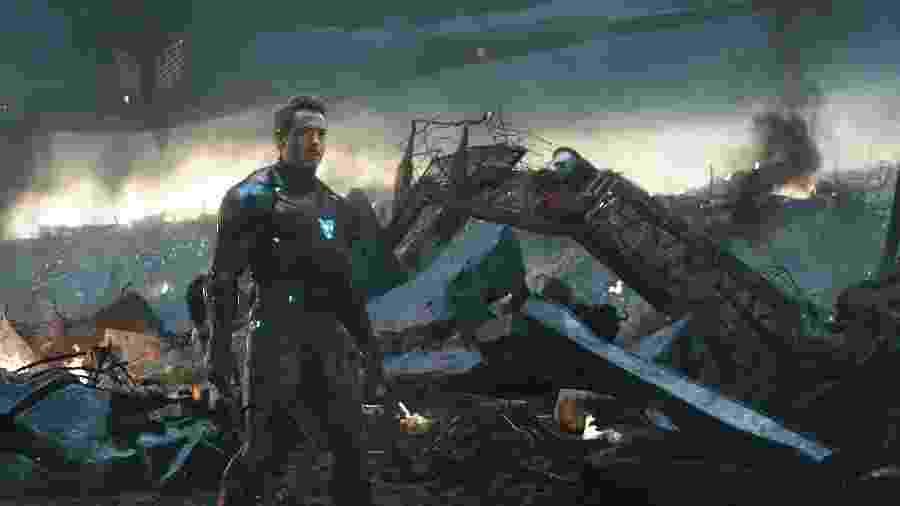 Homem de Ferro (Robert Downey Jr.) em cena de Vingadores: Ultimato - Divulgação