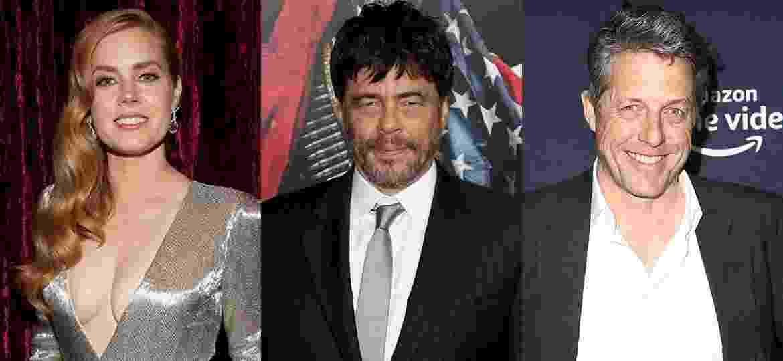 Amy Adams, Benicio Del Toro e Hugh Grant vão concorrer ao Emmy pela primeira vez em 2019 - Christopher Polk, Gabe Ginsberg, Tommaso Boddi/Getty Images