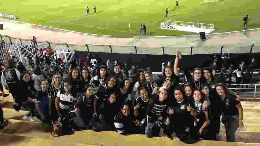 Movimento Alvinegras, de torcedoras do Corinthians - Divulgação