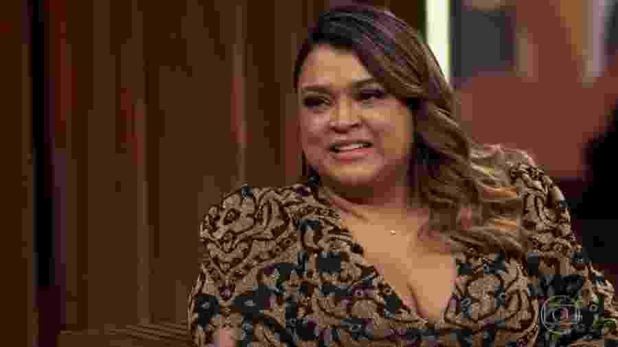 Preta Gil no programa Conversa Com Bial - Reprodução/TV Globo