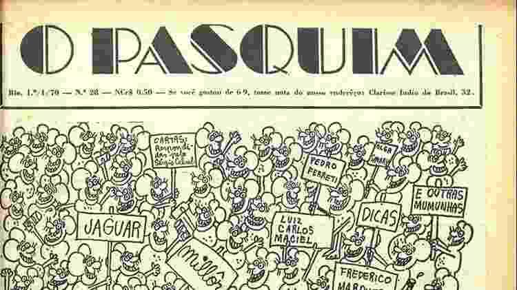 """Edição número 28 de """"O Pasquim""""  - Divulgação - Divulgação"""