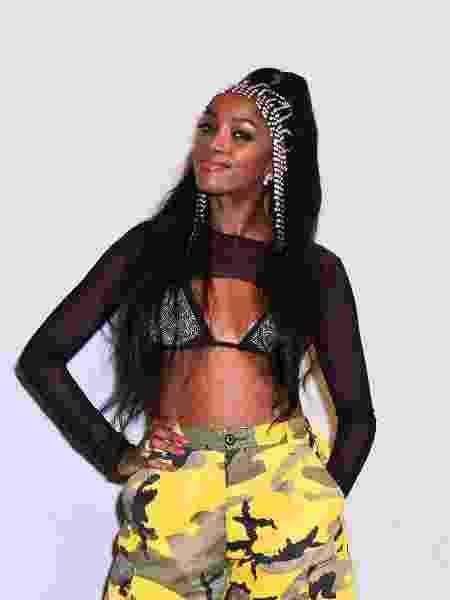 A cantora Iza: sempre a única negra da escola particular - Leo Franco/AgNews