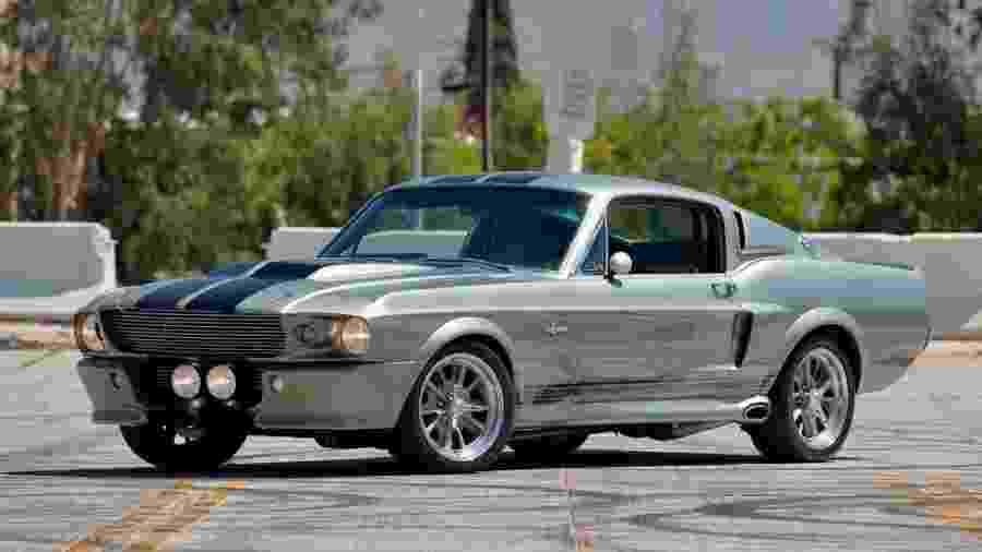 Mustang Eleanor 1967 do filme 60 Segundos - Divulgação