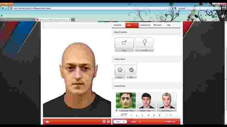 """Recurso """"Game Face"""" do FIFA 10 - Reprodução"""