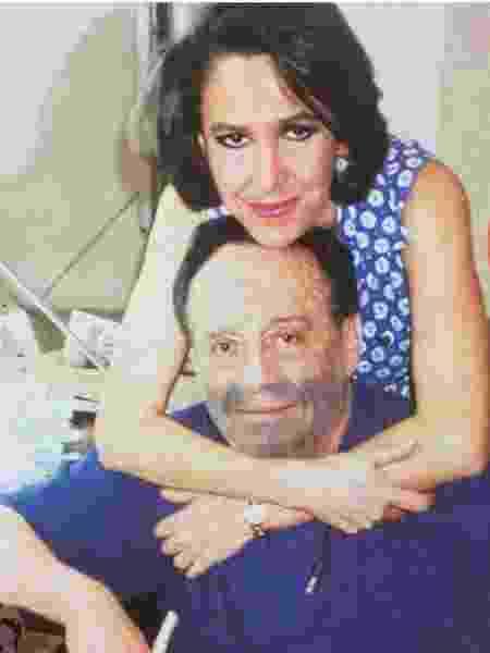 Florinda Meza e Roberto Bolaños - Reprodução/Twitter