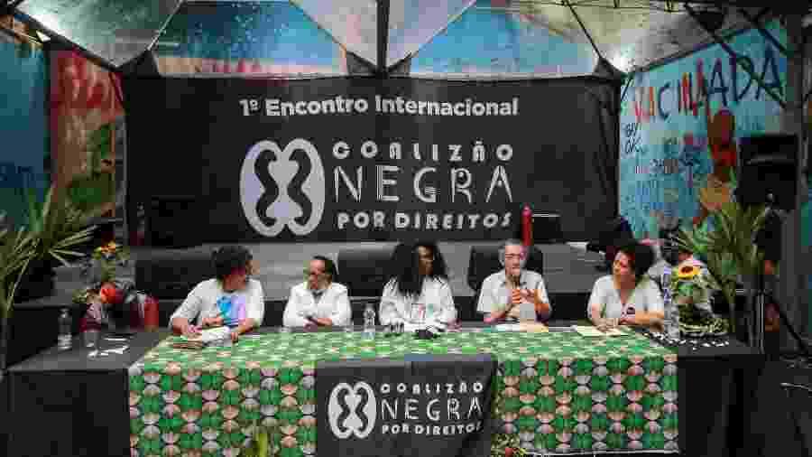 O Primeiro Encontro Internacional da Coalizão Negra por Direitos aconteceu em São Paulo na sexta (29) e no sábado (30) - Divulgação