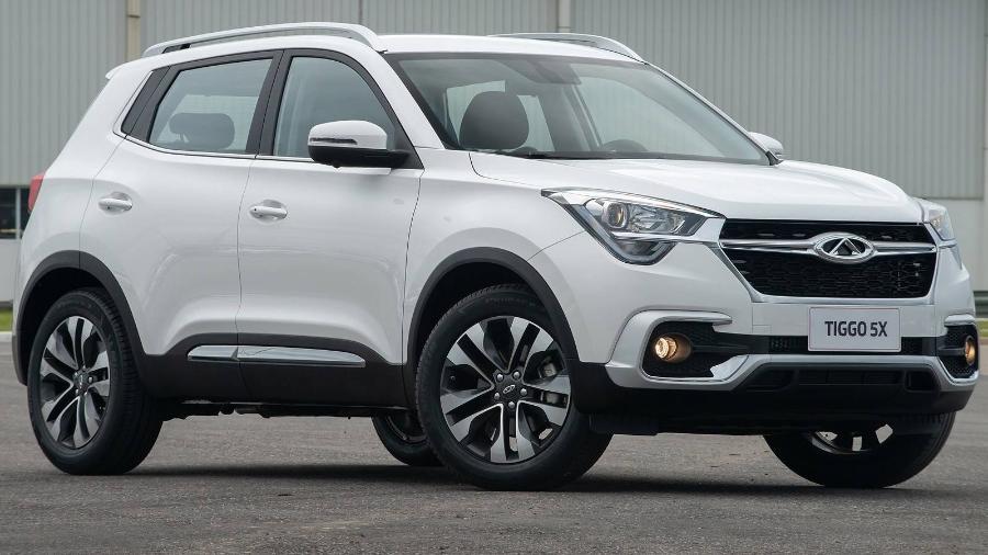 Montado no Brasil, Caoa Chery Tiggo 5x foi o veículo de origem chinesa mais vendido do Brasil no ano passado - Divulgação