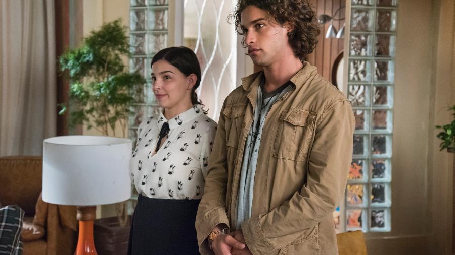 Keyla ( Gabriela Medvedovski ) e Deco ( Pablo Morais ) - Globo/Cesar Alves