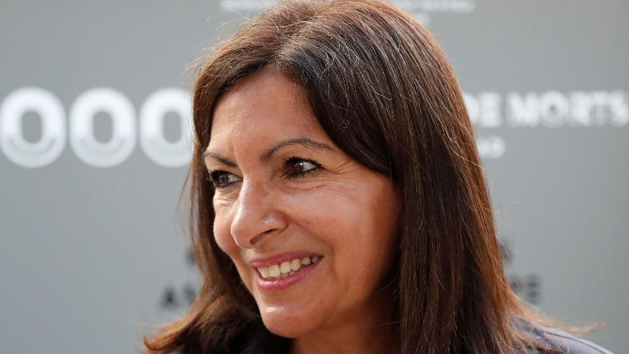 Prefeita de Paris, Anne Hidalgo, determinou lockdown na capital da França - Reprodução