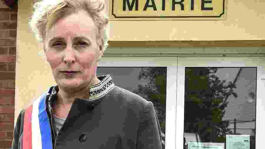 Marie Cau, a primeira prefeita trans da França - FRANCOIS LO PRESTI/AFP