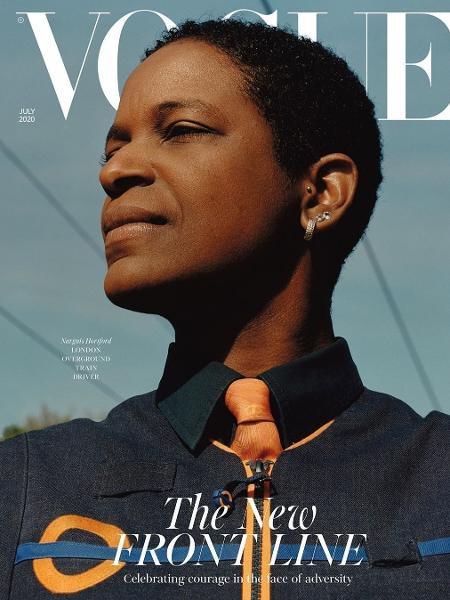 Uma das três capas da Vogue britânica  - Reprodução/Instagram