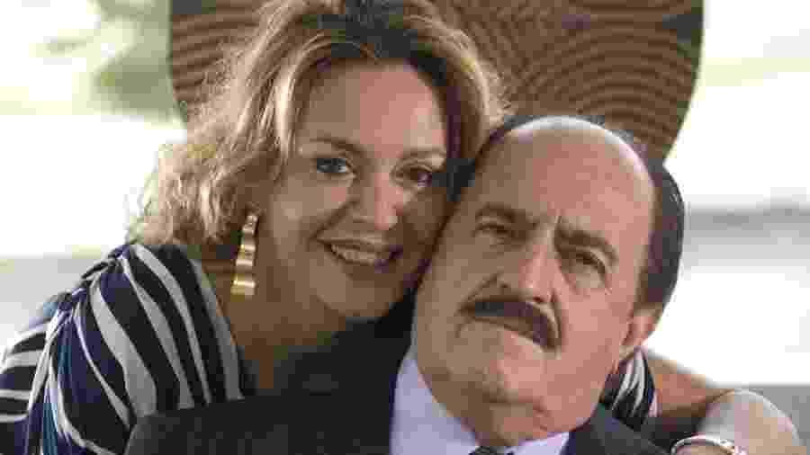 Maria Zilda e Ary Fontoura - Reprodução/Tv Globo
