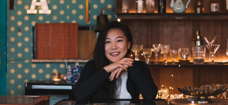 Mijung Kim, do Nuna, que transformou o bar e restaurante em delivery antes de decidir fechar - Divulgação