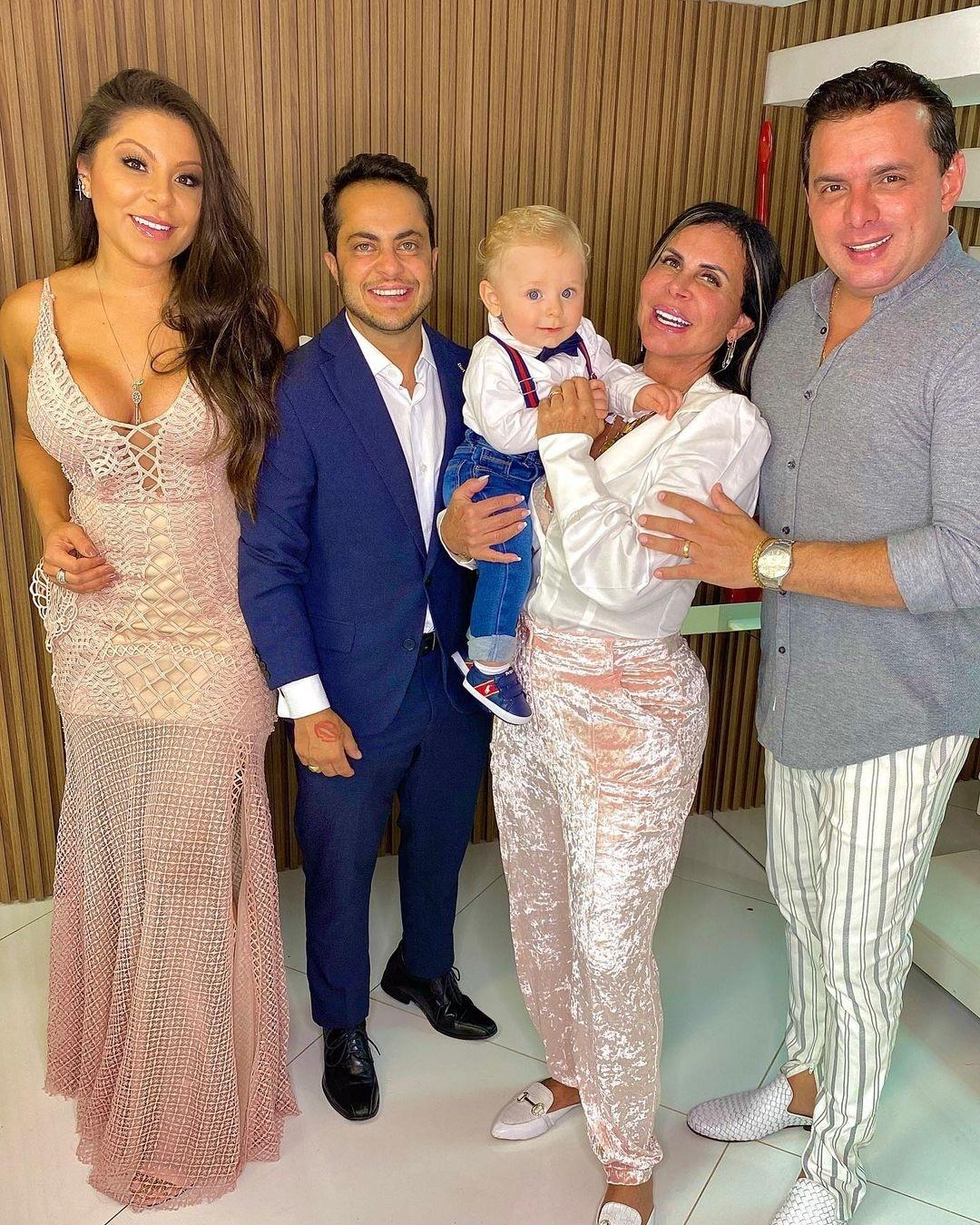 Andressa Miranda mostrou família reunida nas redes sociais