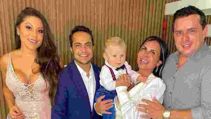 Andressa Miranda mostrou família reunida nas redes sociais - Reprodução/Instagram @andressaferreiramiranda