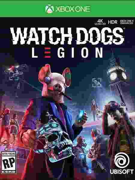 Watch Dogs Legion capa - Divulgação/Ubisoft - Divulgação/Ubisoft