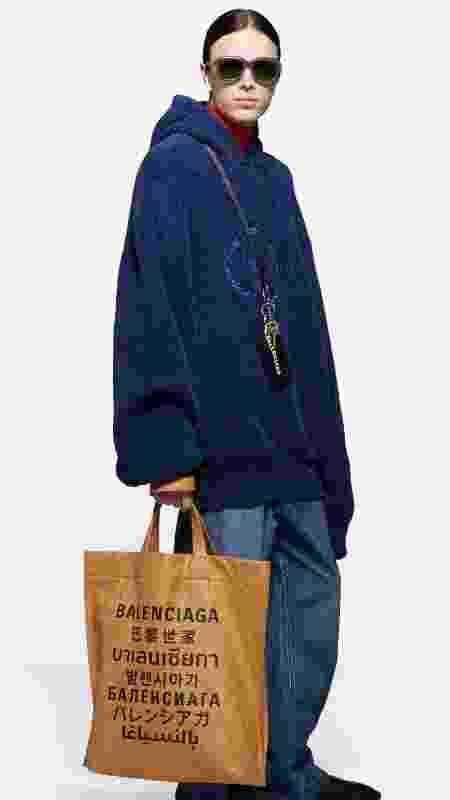 Calça jeans folgada - Reprodução/Balenciaga - Reprodução/Balenciaga