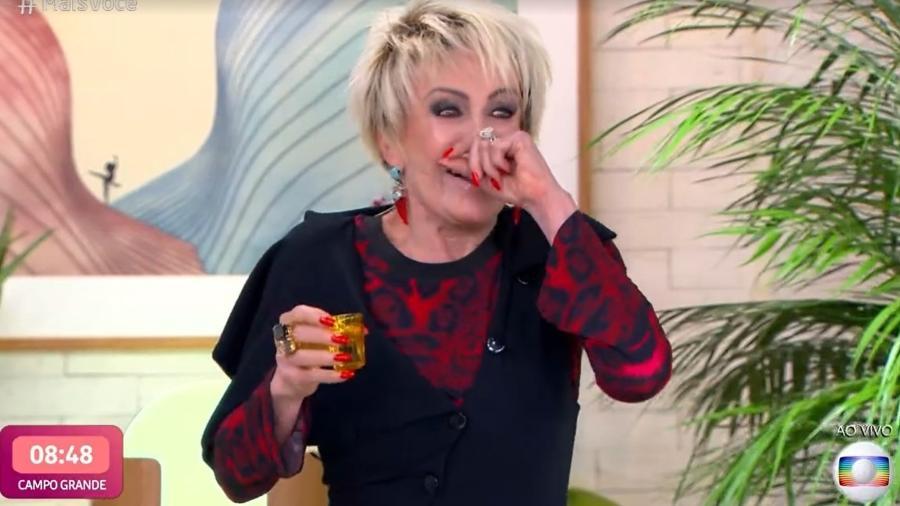 Ana Maria Braga deu dica apimentada de namoro - Reprodução/TV Globo