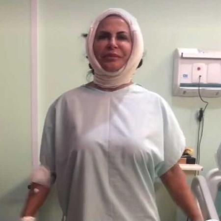 Gretchen mostra visual pós-cirurgico - Reprodução/Instagram