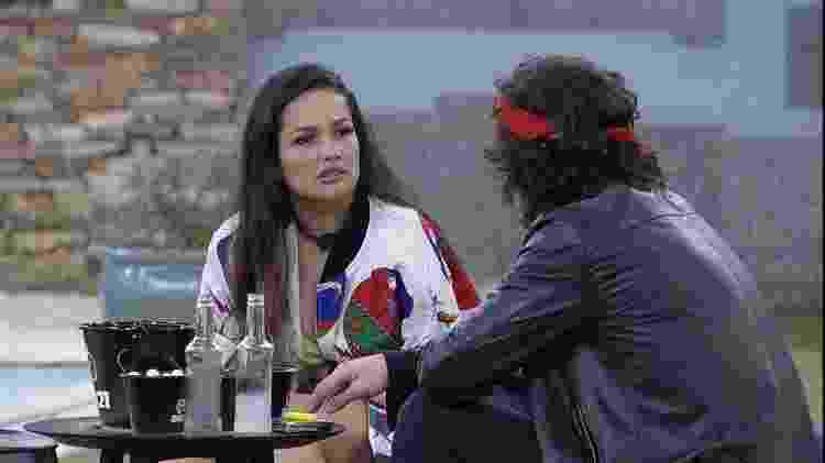 BBB 21: Juliette fala sobre Sarah com Fiuk - Reprodução/Globoplay - Reprodução/Globoplay