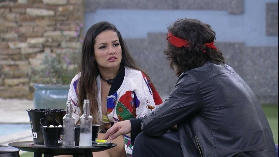 BBB 21: Juliette fala sobre Sarah com Fiuk - Reprodução/Globoplay