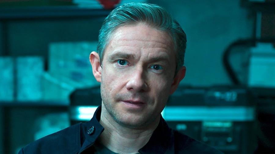 """Martin Freeman interpreta o agente Everett Ross em """"Pantera Negra"""" - Reprodução"""