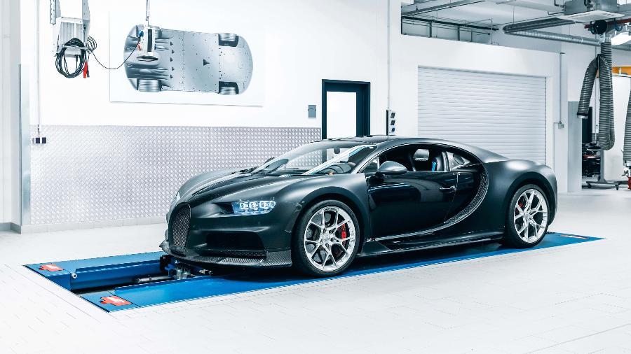 Bugatti Chiron protótipo 4-005 - Divulgação
