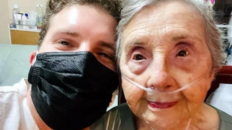 Thiago Fragoso lamenta morte da avó nas redes sociais - Reprodução/Instagram