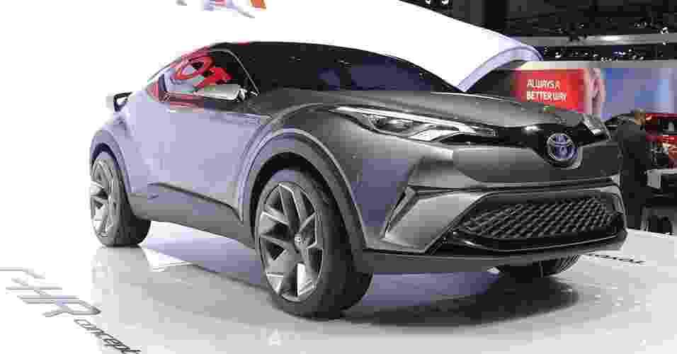 Toyota C-HR Concept - Newspress