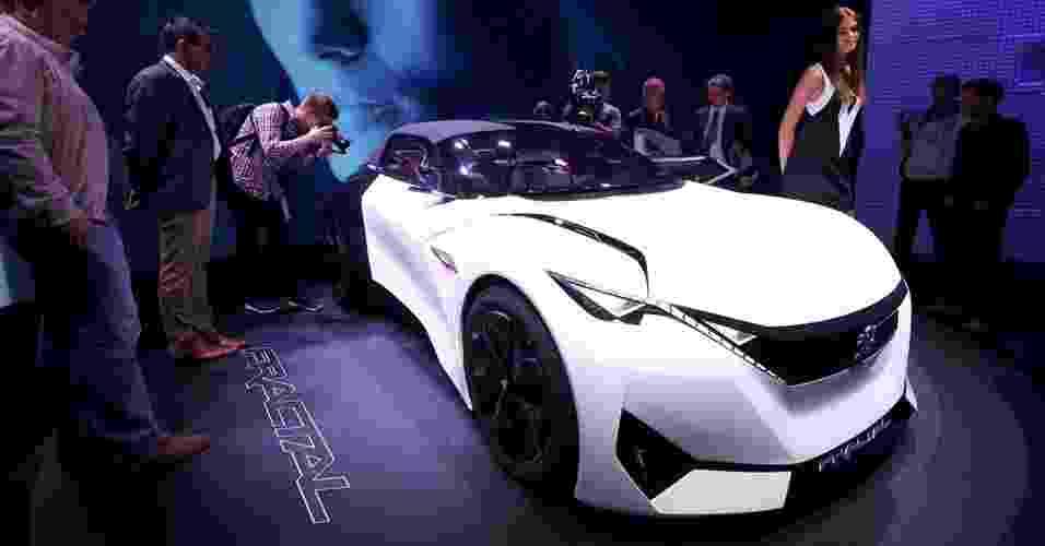 Peugeot Fractal Concept - Daniel Roland/AFP Photo